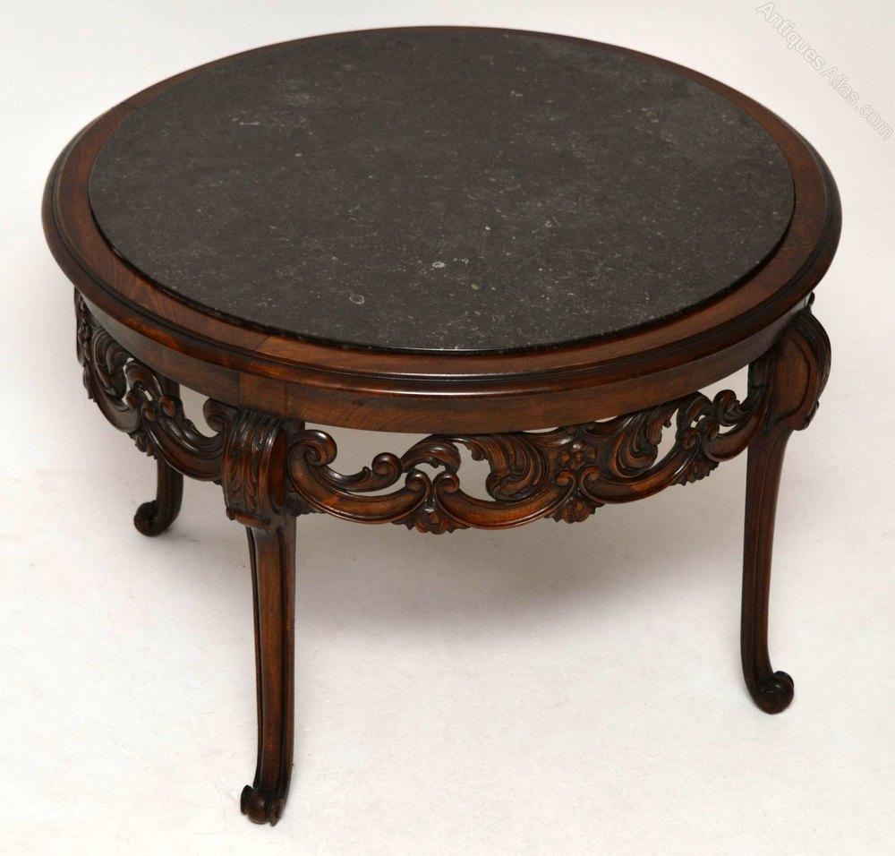 Marble Coffee Table Vintage