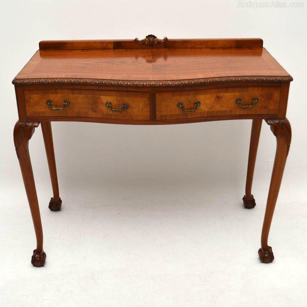 antique walnut server console table antiques atlas. Black Bedroom Furniture Sets. Home Design Ideas