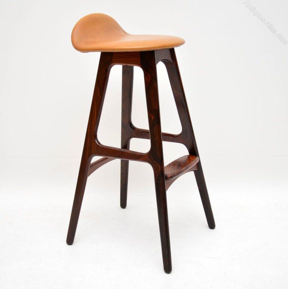 on sale 6880a 439f2 Danish Rosewood Vintage Bar Stool By Erik Buch
