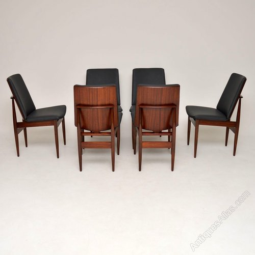 buy online 52a46 86bca Set Of 6 Danish Rosewood Dining Chairs
