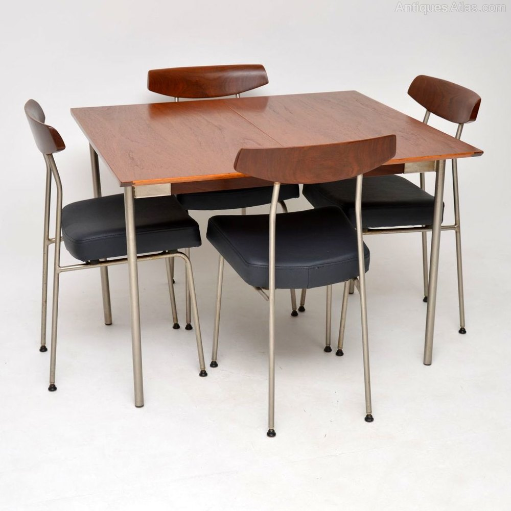 Antiques Atlas Teak Dining Table Chairs By John Sylvia Reid