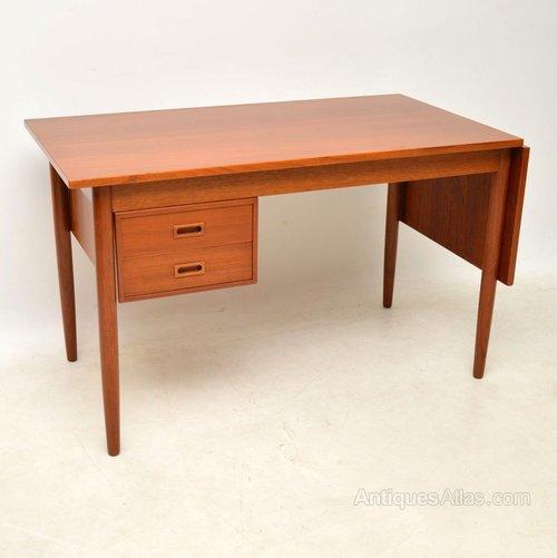 - Antiques Atlas - Vintage Danish Drop Leaf Desk