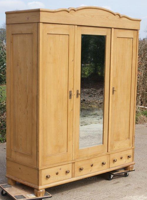 home wardrobe hamilton in amazon door co uk dp pine kitchen drawer