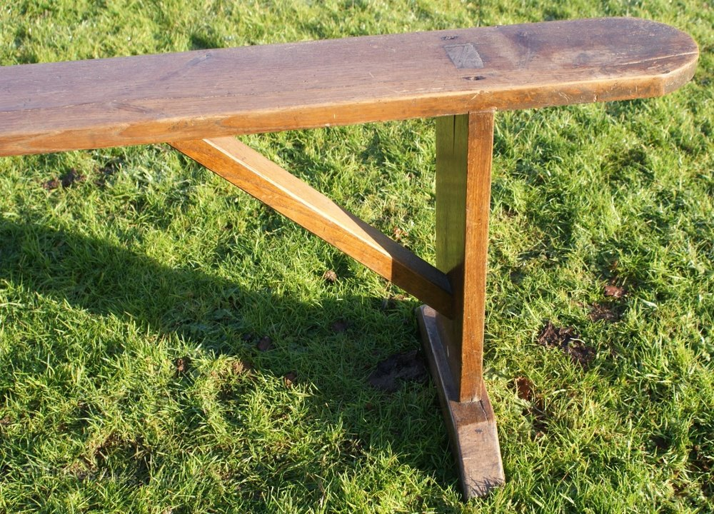 A sturdy french oak bench antiques atlas Oak bench