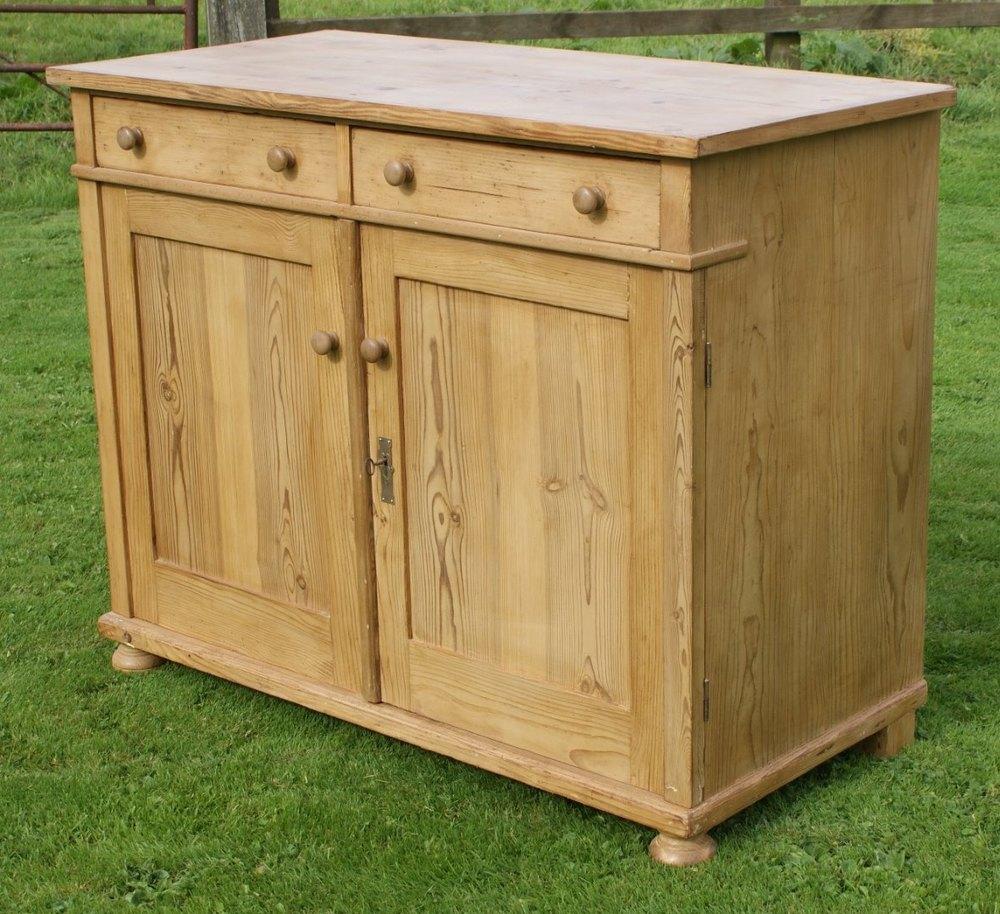 German pine dresser base sideboard antiques atlas for Sideboard pinie