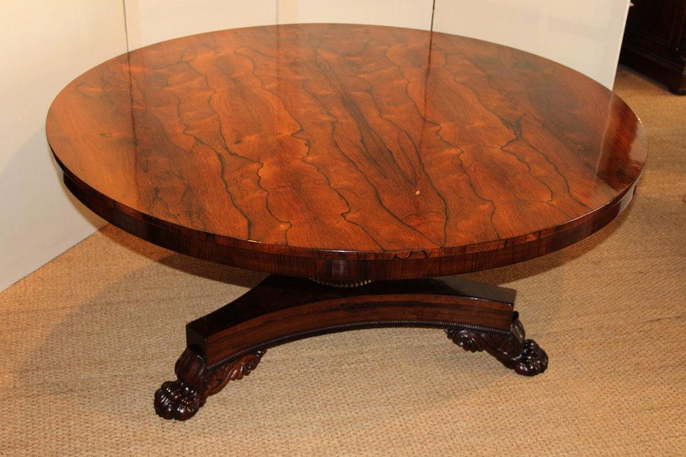 Etonnant 5ft Round Rosewood Dining Table ...