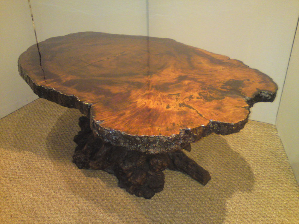 Burl And Root Coffee Table