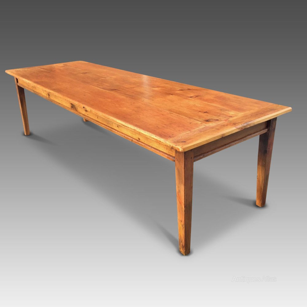 Farm table kitchen table dining table c 1830 antiques for Dining room tables 38 inches wide