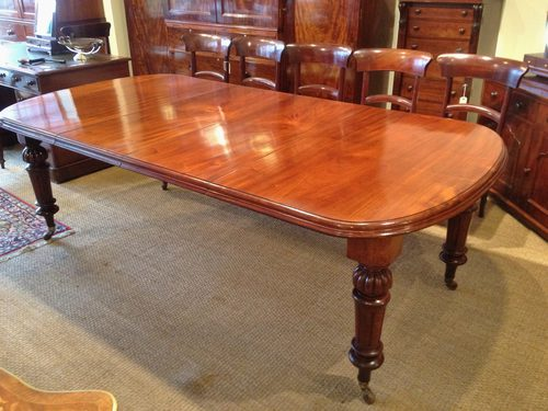 Mahogany Dining Table Antiques Atlas