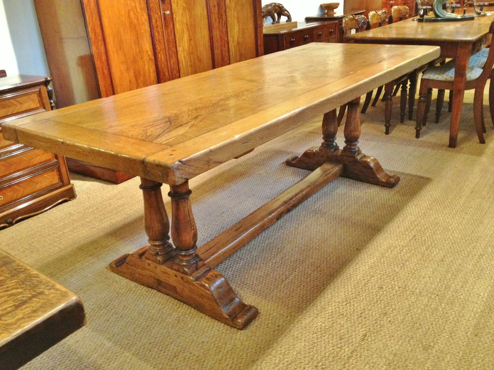 Oak Farmhouse Table Antique Refectory Tables
