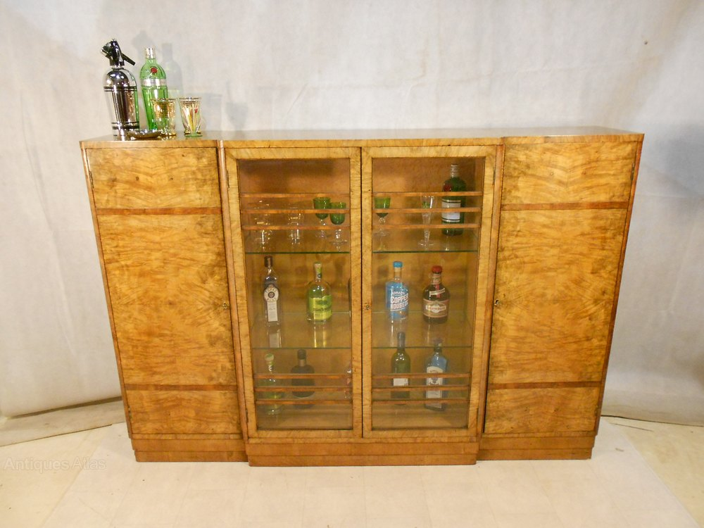 Antique Art Deco Cocktail Cabinet C1925 39 Antiques Atlas