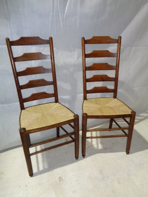 ... Antique Ladder Back Chairs ...
