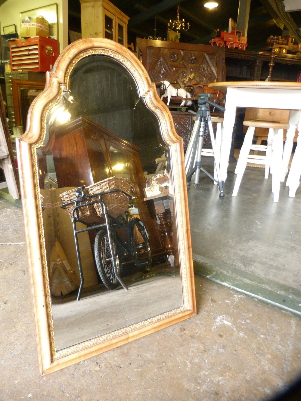 Antiques Atlas Queen Anne Style Dressing Table Mirror