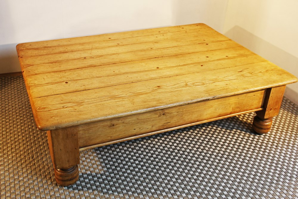 Antique Pine Farmhouse Coffee Table Antiques Atlas