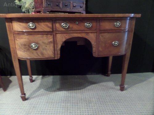 Antique Georgian small mahogany sideboard