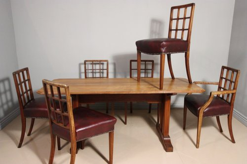 Incredible 1920S Betty Joel Dining Table Chairs Antiques Atlas Cjindustries Chair Design For Home Cjindustriesco
