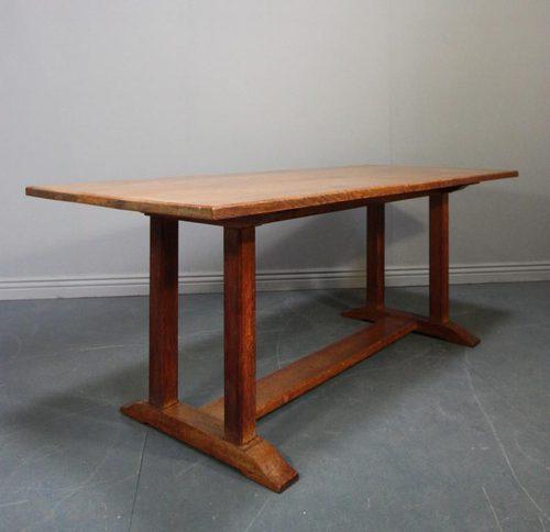 heals dining table oak. 1920s heals oak refectory dining table 9