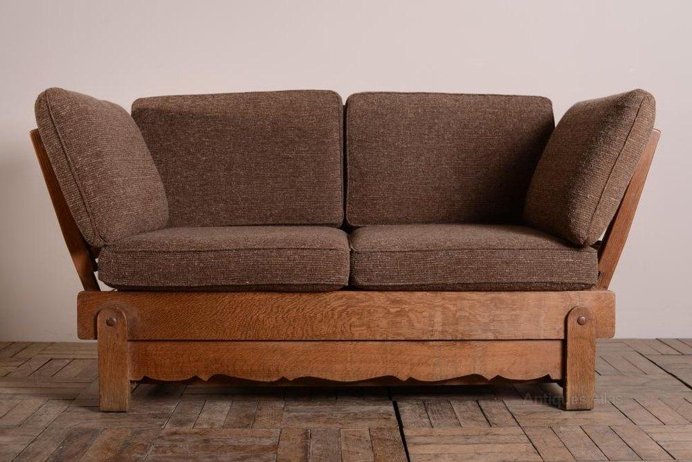 1930 s heals oak bed settee antiques atlas Revere Antique Sofa antique looking sofa beds
