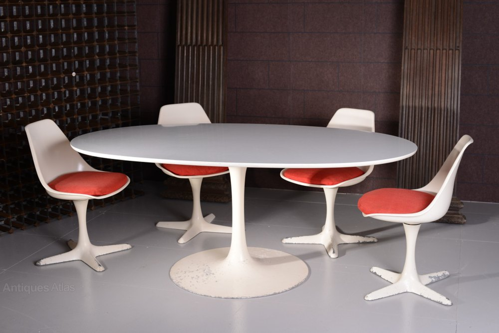 1970s Arkana Dining Table U0026 Four Chairs ...
