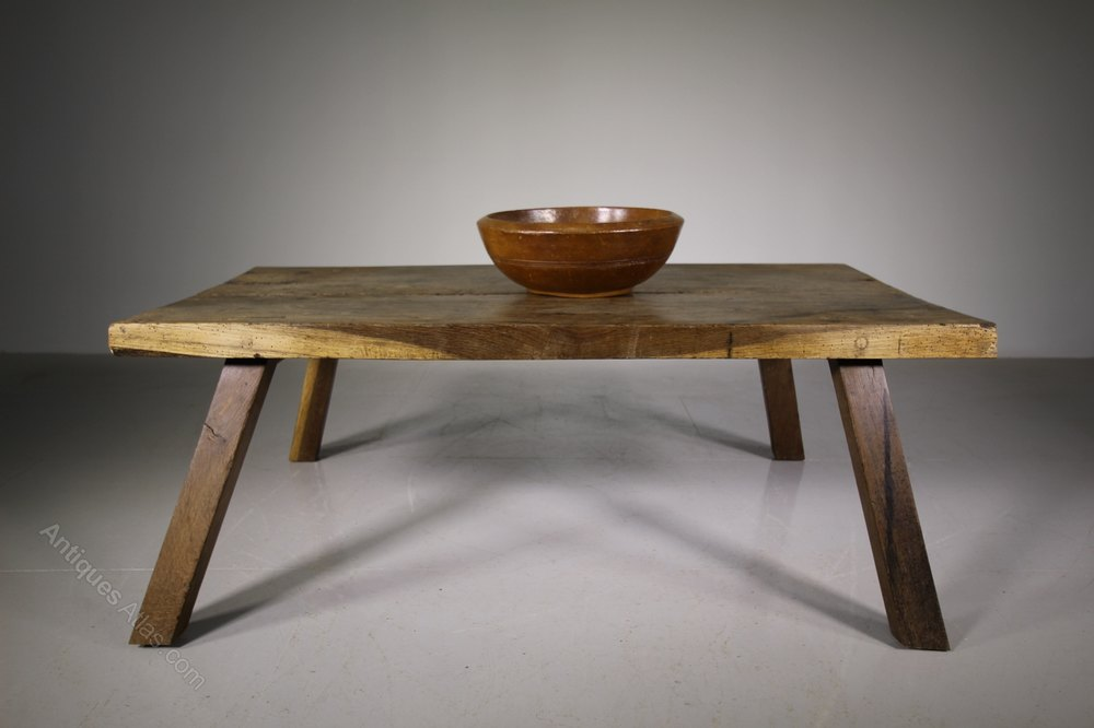 19th Century Antique Oak Pig Bench Coffee Table Antiques Atlas