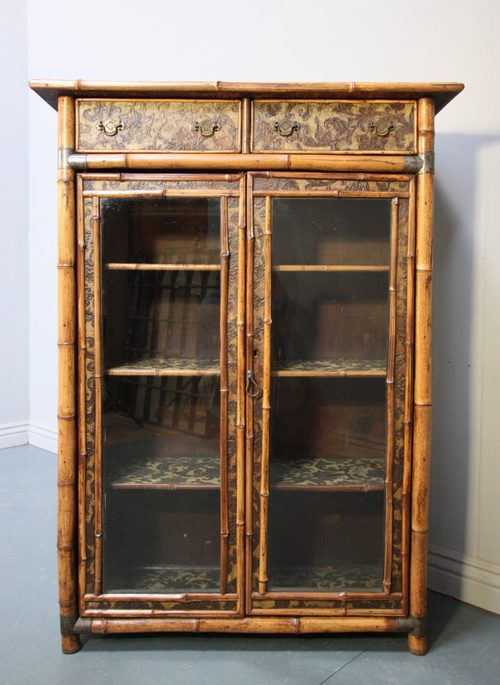 Antique Glazed Bookcases