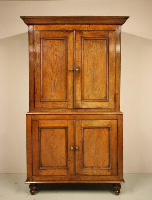 Antique Oak Camarthenshire Food Cupboard. - Antique Oak Camarthenshire Food Cupboard. - Antiques Atlas
