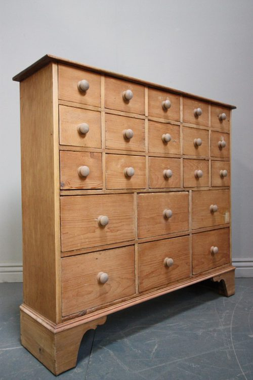 Antique Pine Apothecary Chest Of Drawers Antiques Atlas
