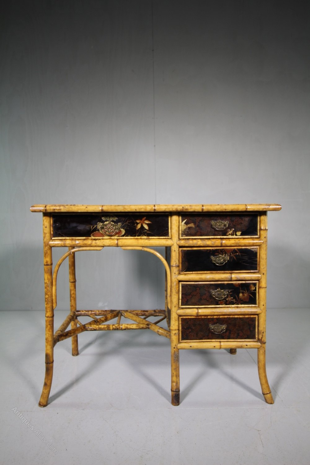 Beautiful 19th Century Antique Bamboo Desk Antiques Atlas