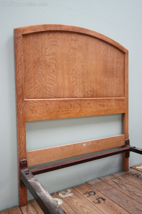 Edwardian Antique Oak Bed By Heals Antiques Atlas