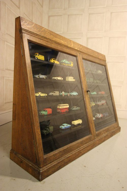 Edwardian Antique Oak Museum Cabinet. Antique Display ... - Edwardian Antique Oak Museum Cabinet. - Antiques Atlas