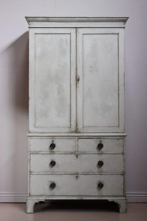 English 19th Century Antique Linen Press Cupboard ... - English 19th Century Antique Linen Press Cupboard - Antiques Atlas