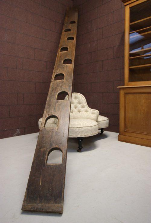 English Antique Pine Jacobs Loft Ladder Antiques Atlas