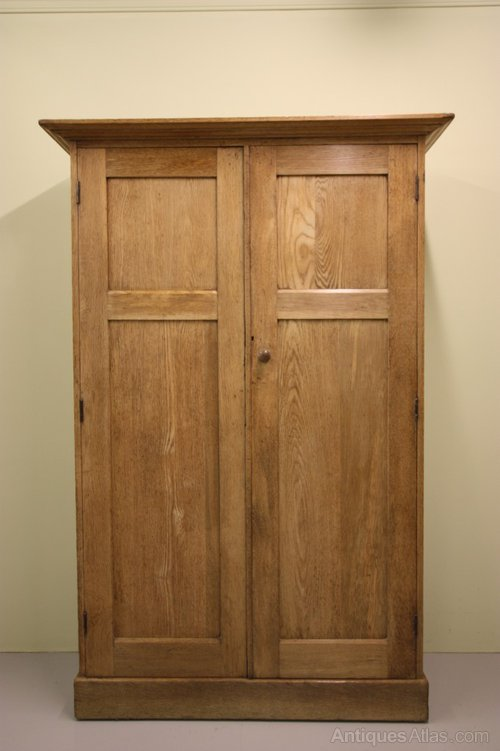 English Antique Shaker Style Oak Cupboard Antiques Atlas