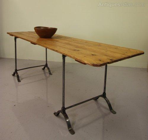 ... Antique Trestle Tables ...