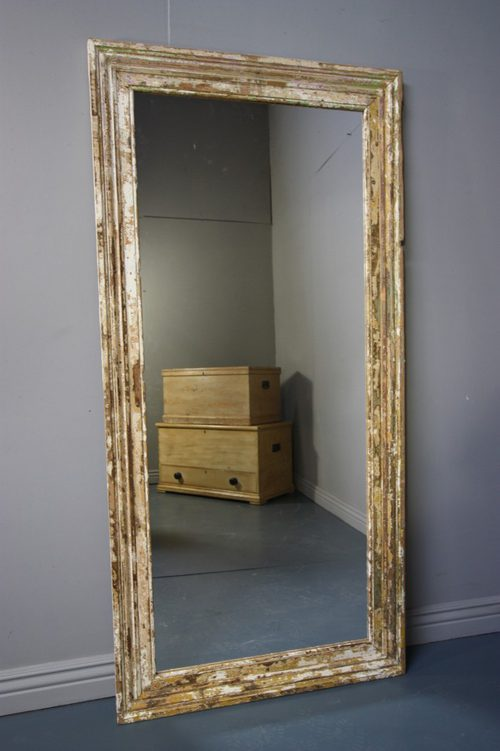 antique mirrors for sale Antiques Atlas   Large Antique Painted Pine Architrave Mirror. antique mirrors for sale