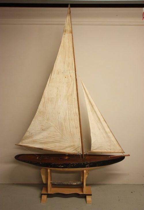 Antiques Atlas - Large Antique Racing Pond Yacht