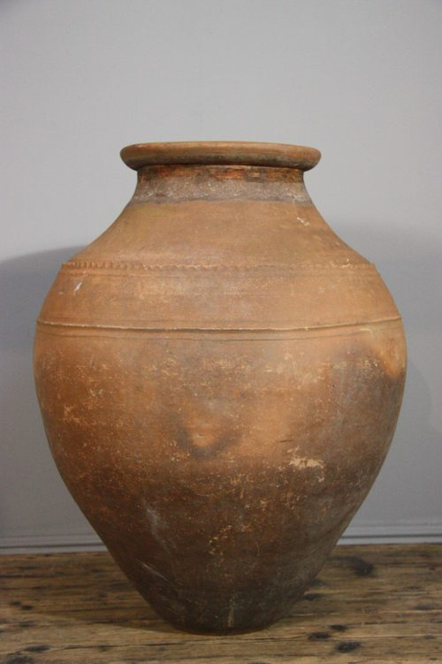 Antiques Atlas Large Antique Terracotta Storage Jar Urn