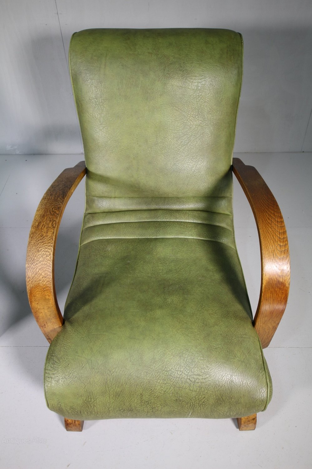Pair Of 1930's Heals Of London Armchairs. - Antiques Atlas