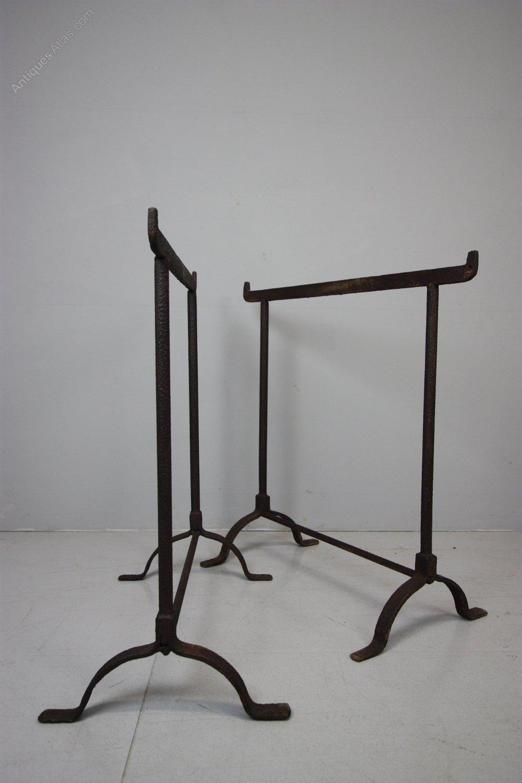 Trestle Table Legs Antique Tressel Tables