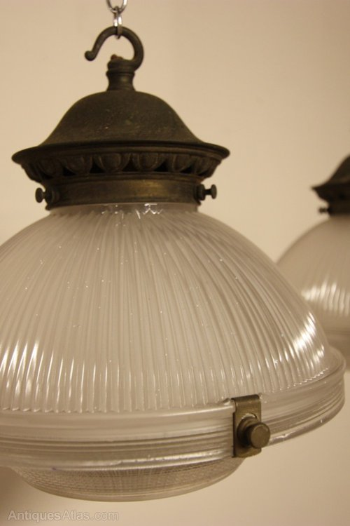 antiques atlas pair of english antique holophane light fittings