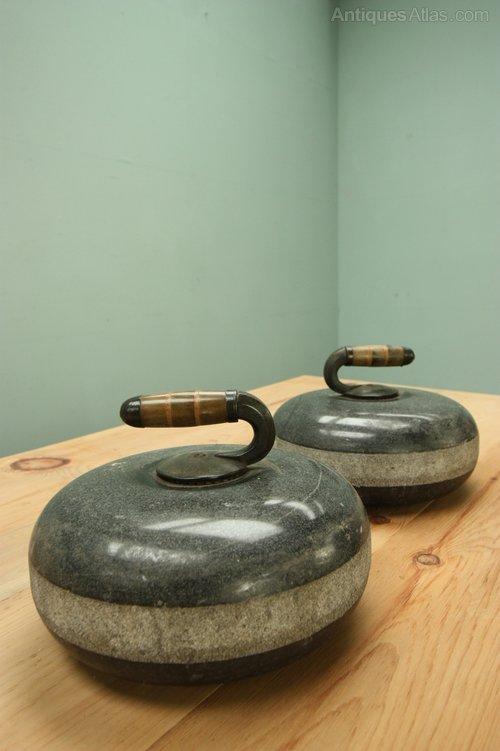 Antiques Atlas Pair Of Scottish Antique Curling Stones