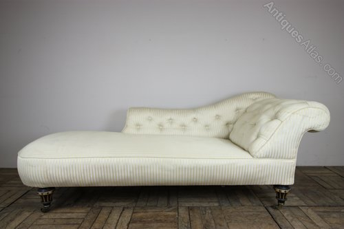 Quality 19th Century Antique Chaise Longue. - Antiques Atlas on chaise recliner chair, chaise furniture, chaise sofa sleeper,