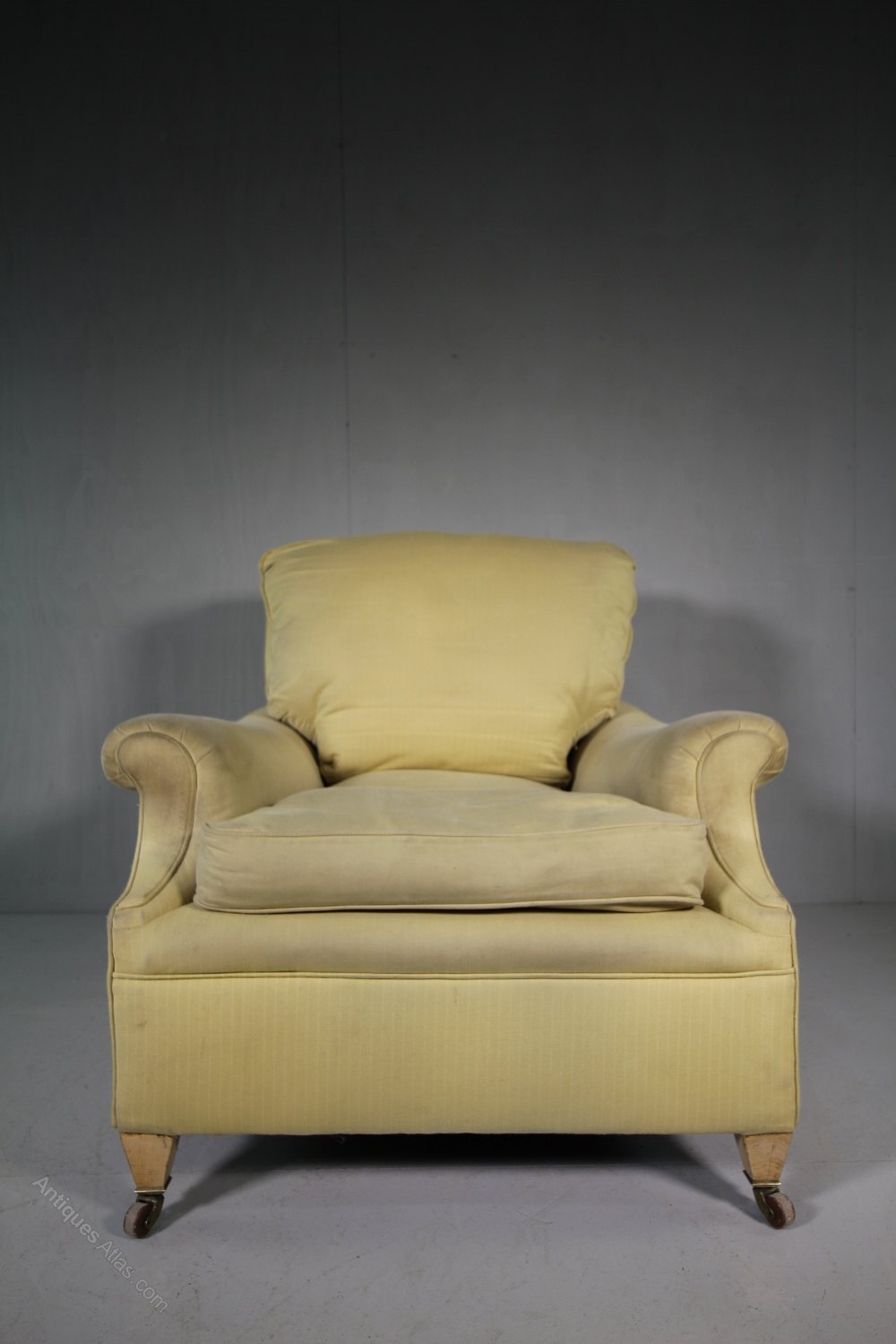Quality 19th century antique upholstered armchair for Best quality upholstered furniture
