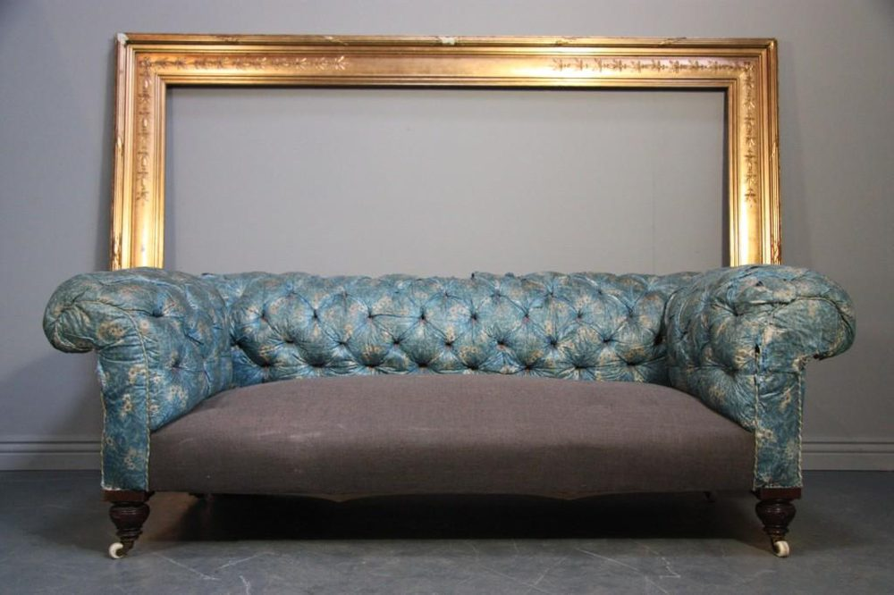 Quality Antique Victorian Chesterfield Sofa/Settee Antique Chesterfields