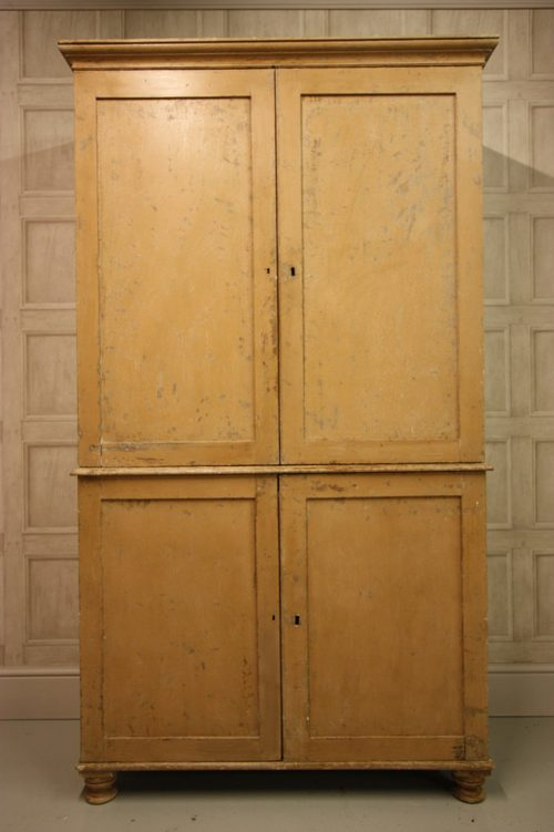 Regency English Antique Pine Cupboard. - Regency English Antique Pine Cupboard. - Antiques Atlas