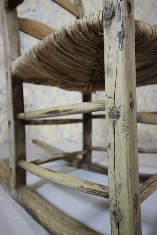 Rustic Spanish Antique Rocking Chair Antiques Atlas