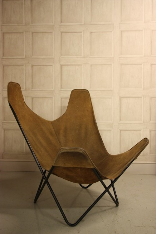 Antiques Atlas Vintage Butterfly Lounge Chair By J
