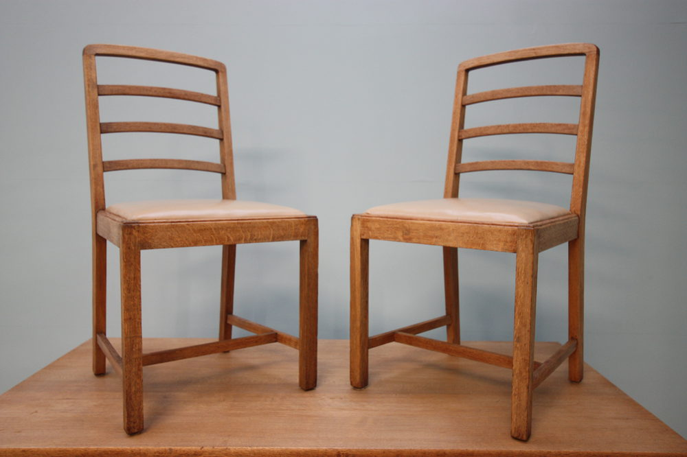 Wonderful Heals Antique Oak Dining Table Amp Chairs
