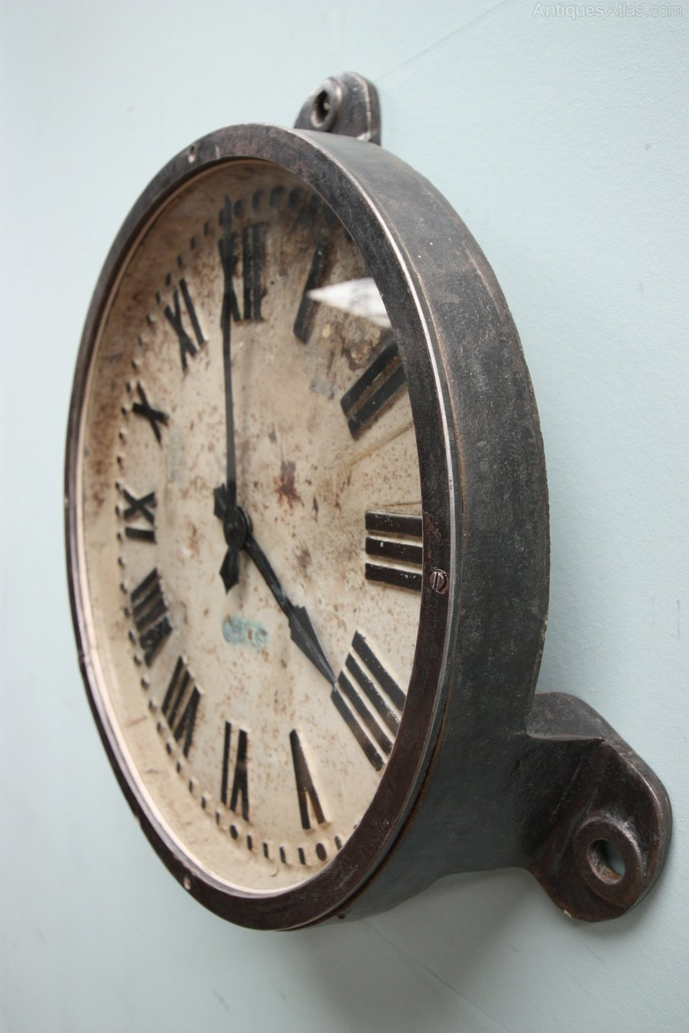 Antiques Atlas Working 1930 S Gents Cast Iron Clock