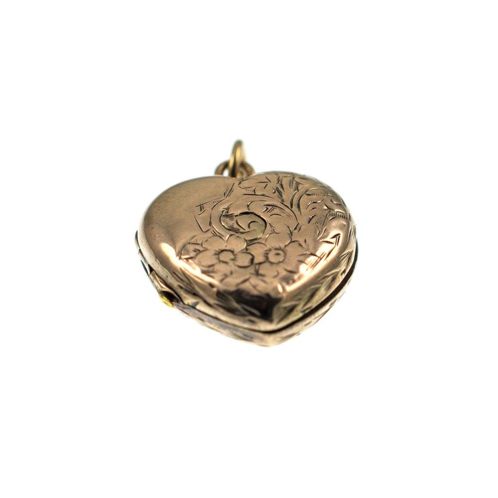 9ct Gold Locket Ring